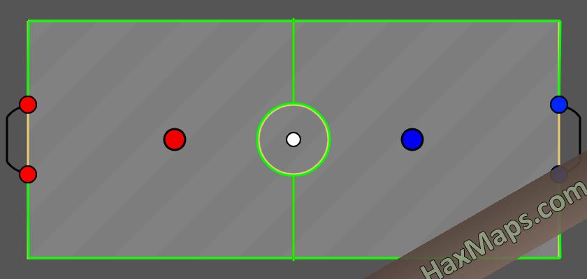 haxball maps | Green Soccer v1