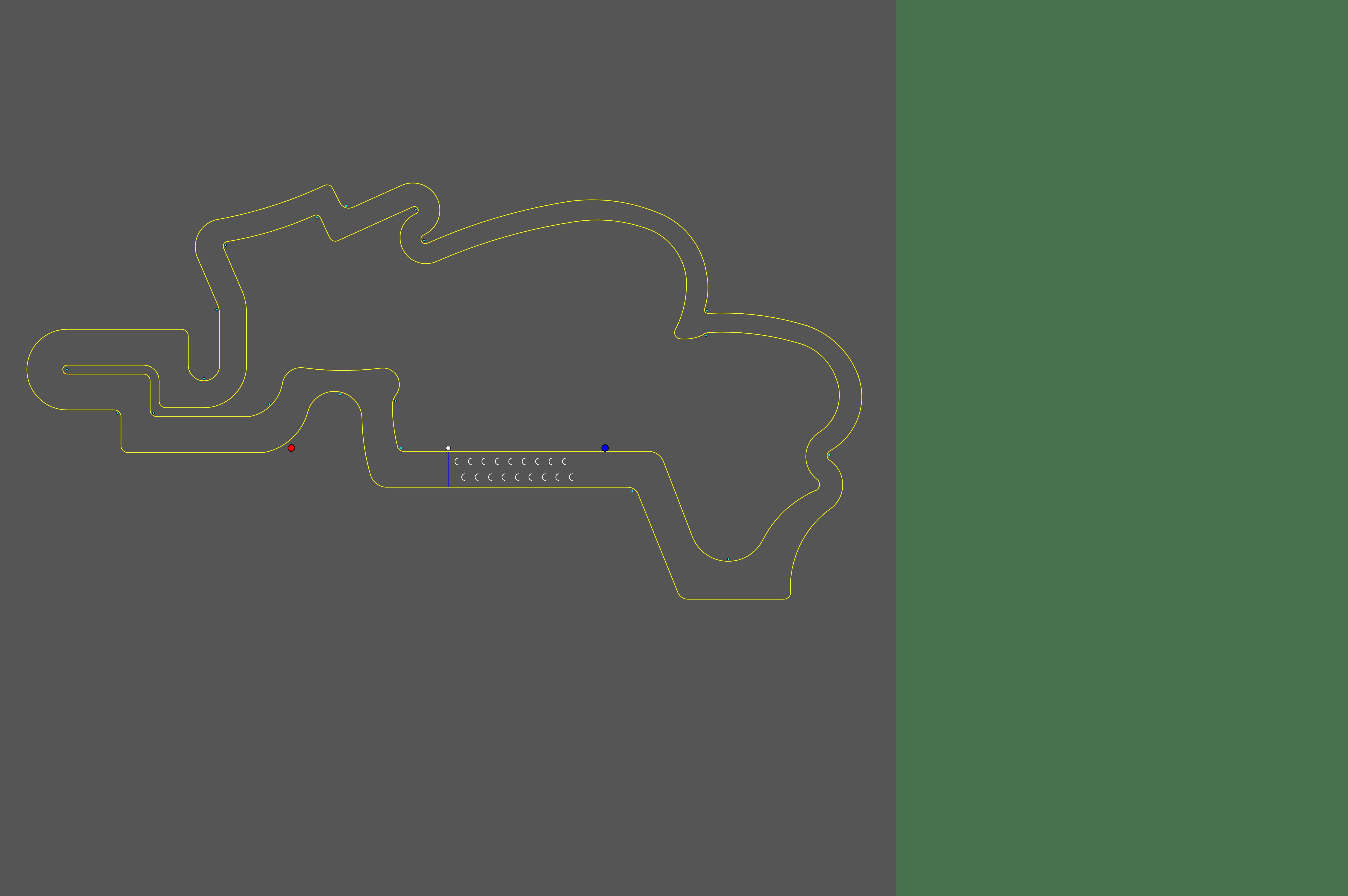 hax ball maps | Race Track - 8 by Galactic Boy