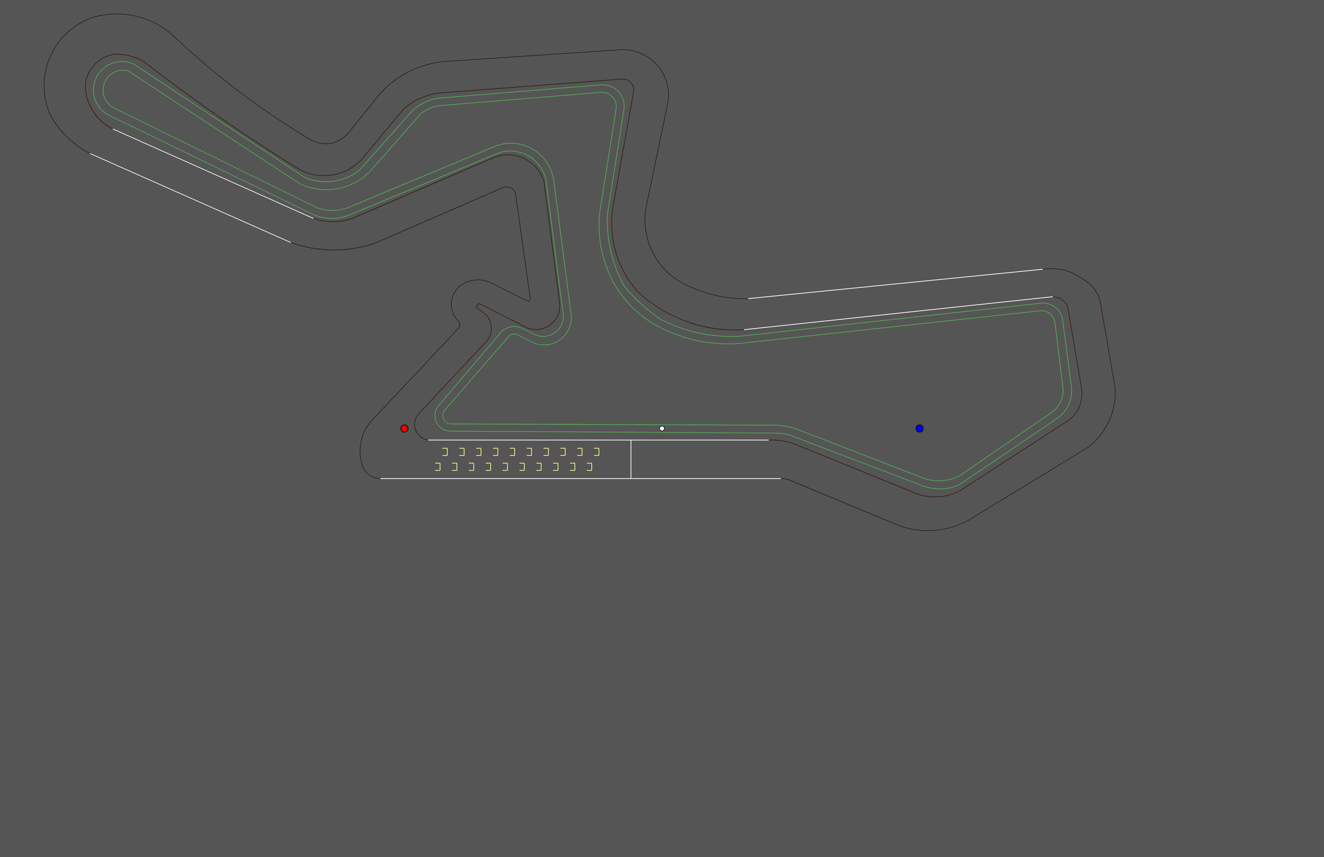 hax ball maps | Kyalami GP with DRS v 1