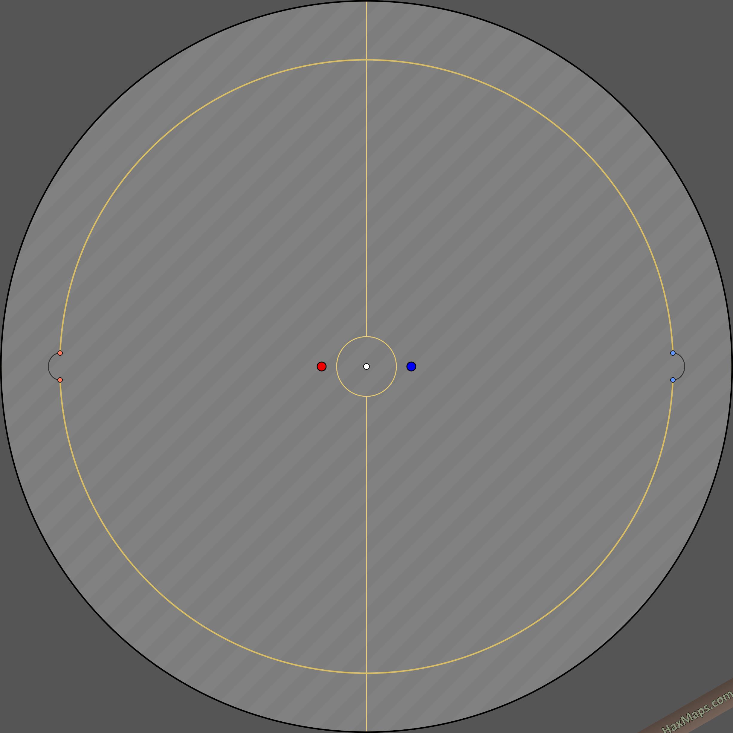 haxball maps | Circular SpaceBounceBrakes 1_1