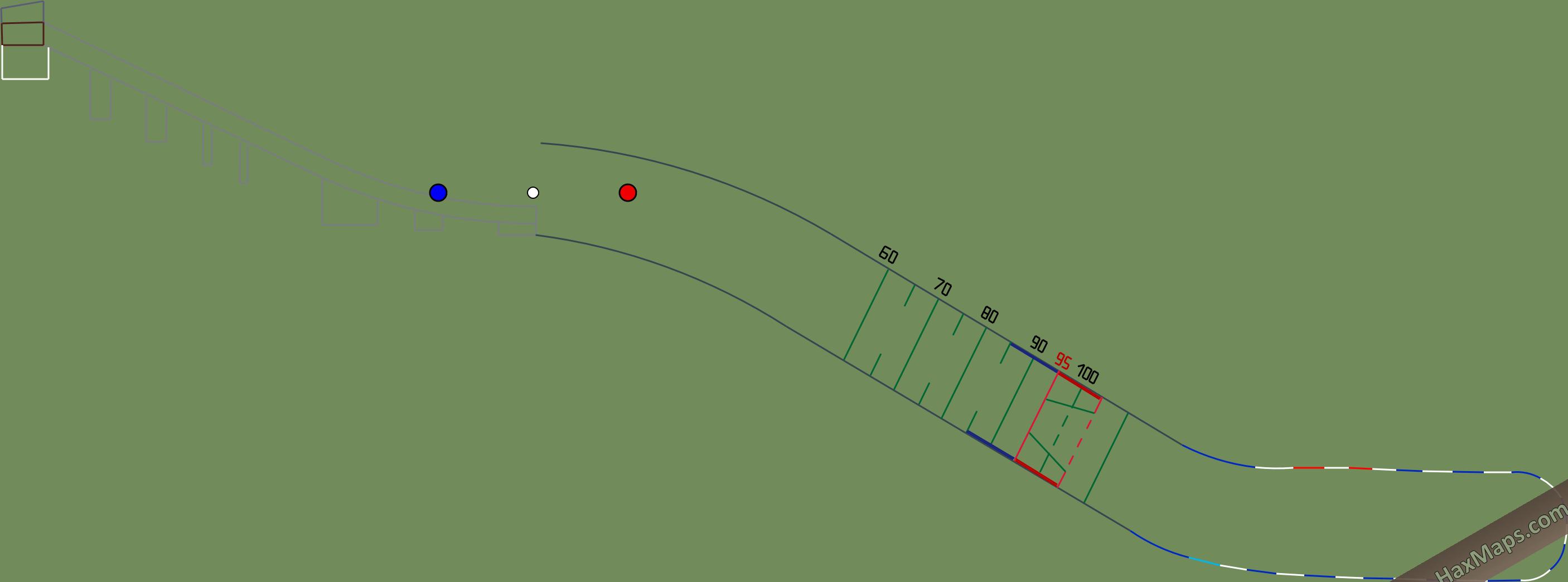 hax ball maps   Predazzo K95  HS104