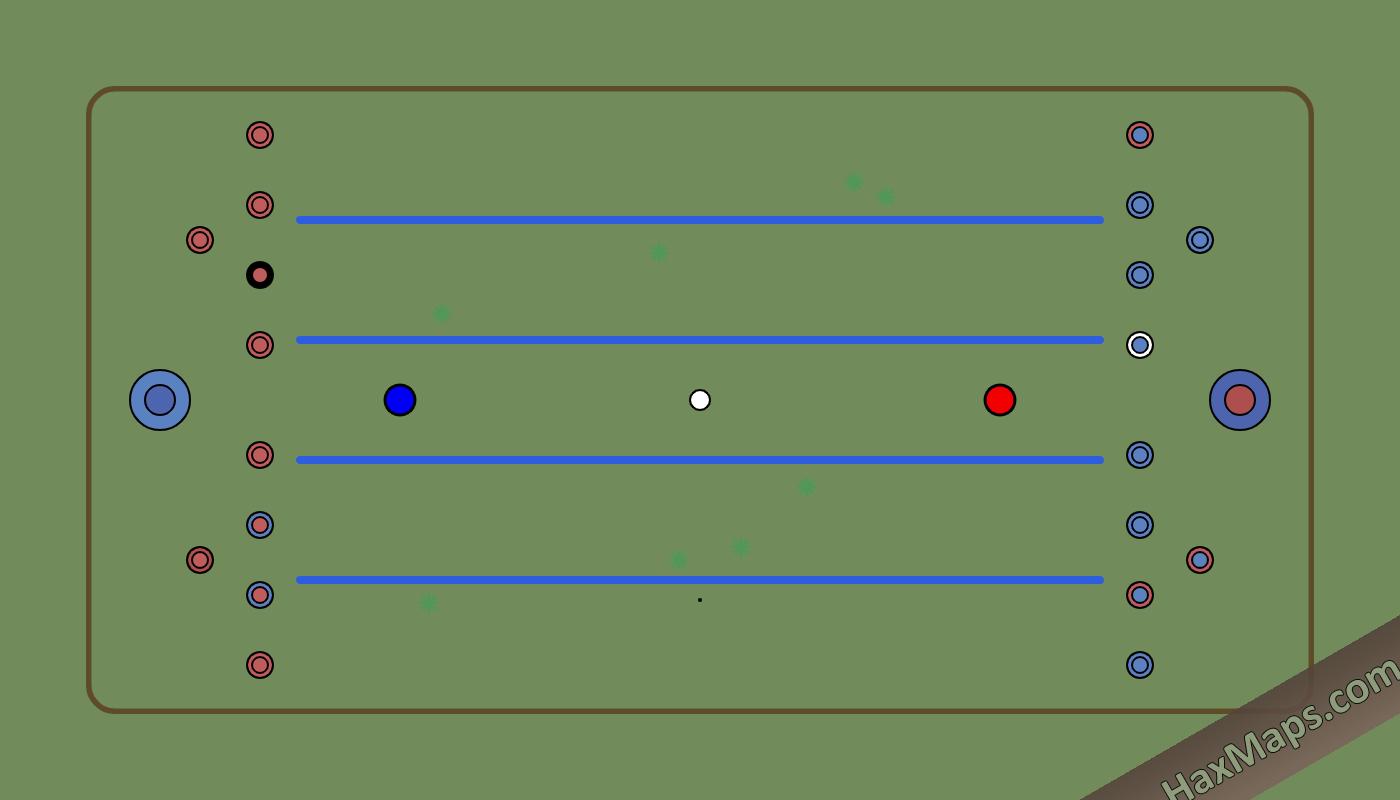 hax ball maps | Tanks by MC [8v8] (5 Lanes)