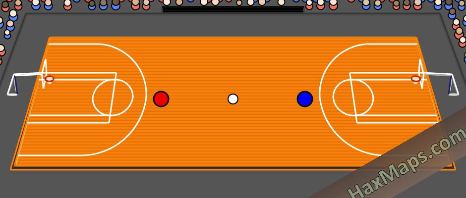 hax ball maps | Basketball 3D by MasterMatkap`S