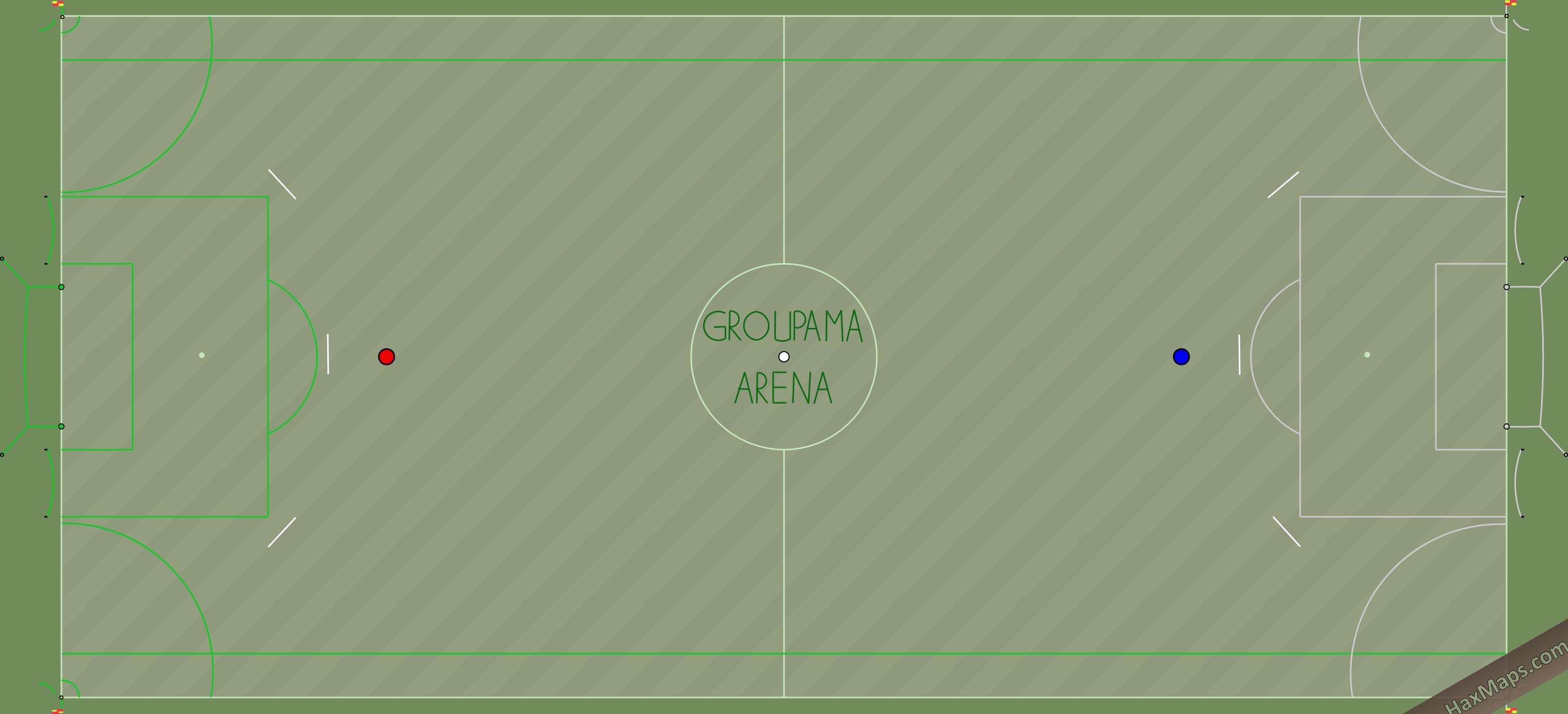 hax ball maps | GROUPAMA ARENA
