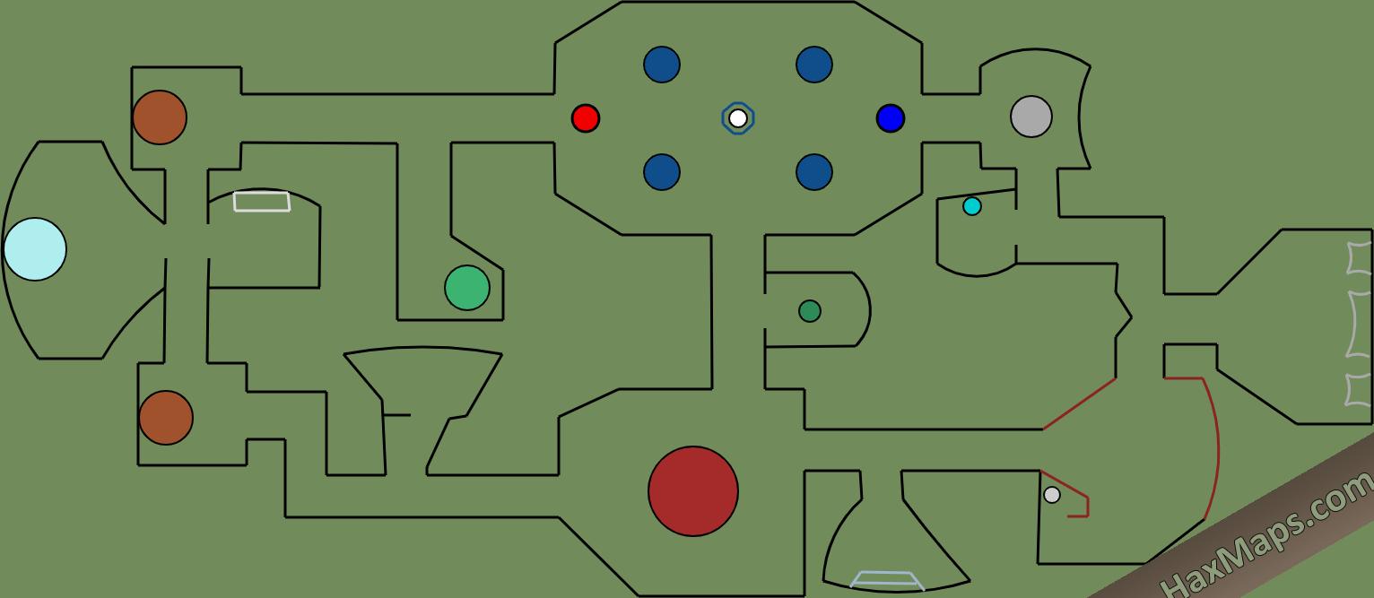 hax ball maps | (Decoração)  Among Us The Skeld By ????☆Mezuki☆