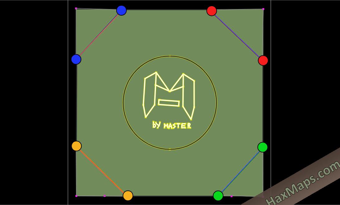hax ball maps | 4 ESQUINAS V1 BY MASTER
