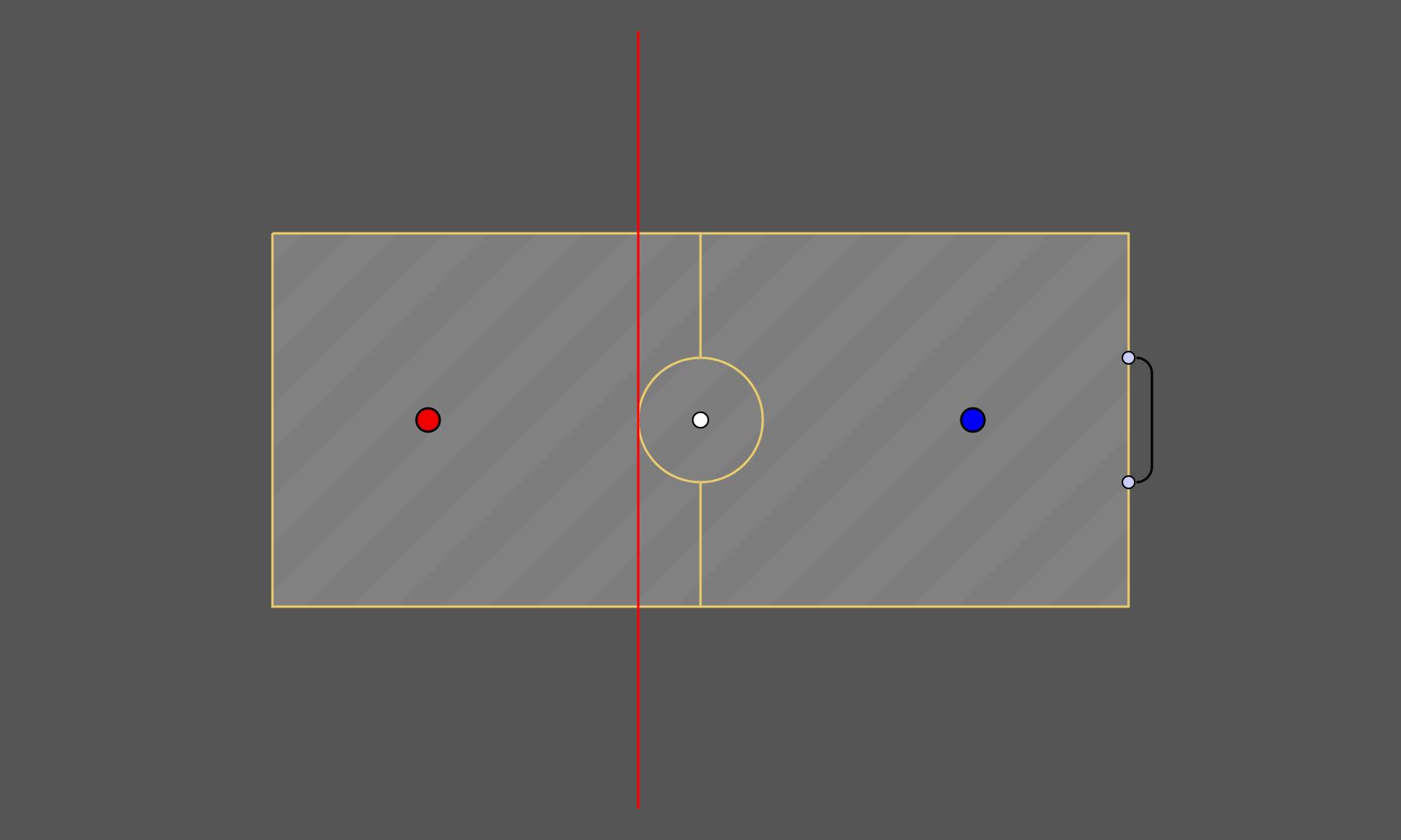 hax ball maps   2v1 Spaceball fixeded