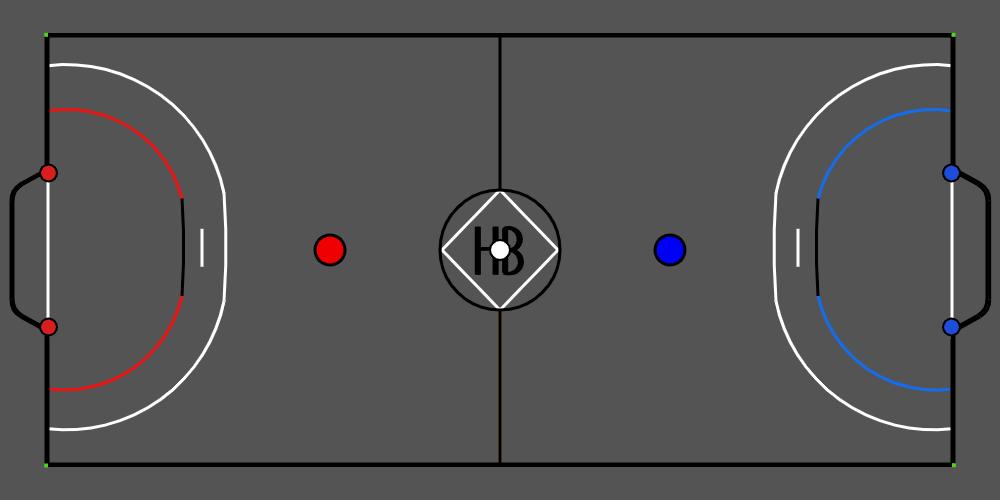 hax ball maps   Handball 2v2 I 3v3 by Tudor
